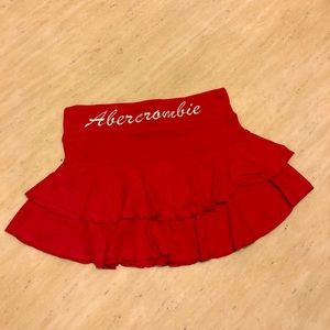 New Abercrombie&Fitch Mini Skirt in Red Size S/M